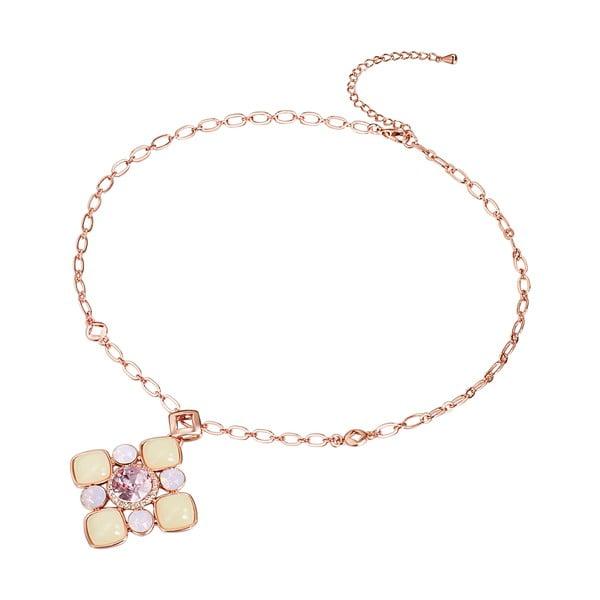 Naszyjnik Swarovski Elements Rose Water Opal