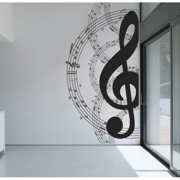 Naklejka na ścianę Nuta, 60x90 cm