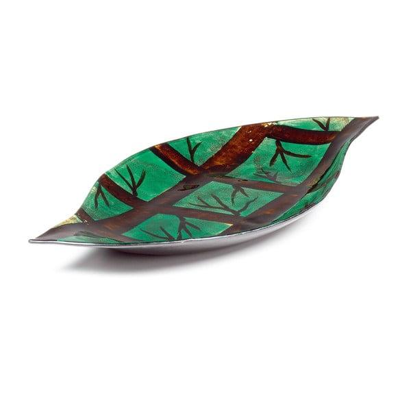 Szklana taca Arizona Leaf