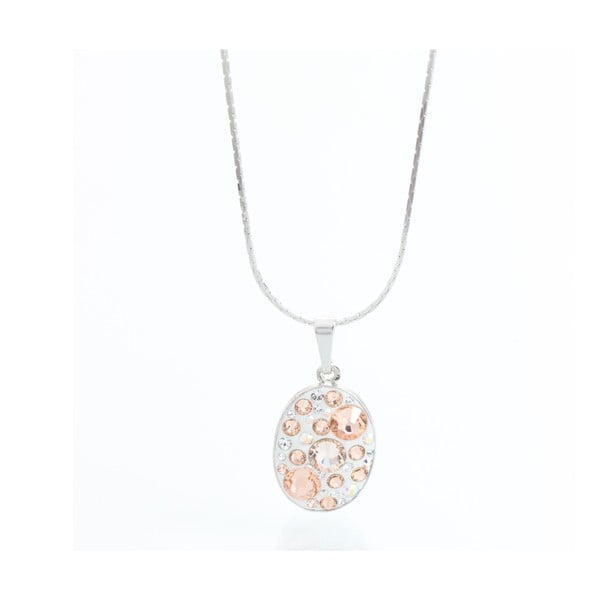 Naszyjnik Laura Bruni Swarovski Elements Bijou Peach
