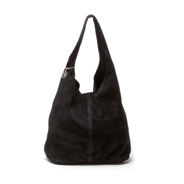 Czarna torebka skórzana Roberta M Perlita