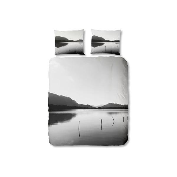 Szara pościel Muller Textiel Landscape, 200x200 cm