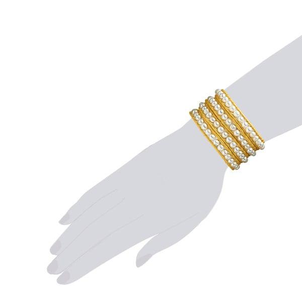 Bransoletka Evian, żółta