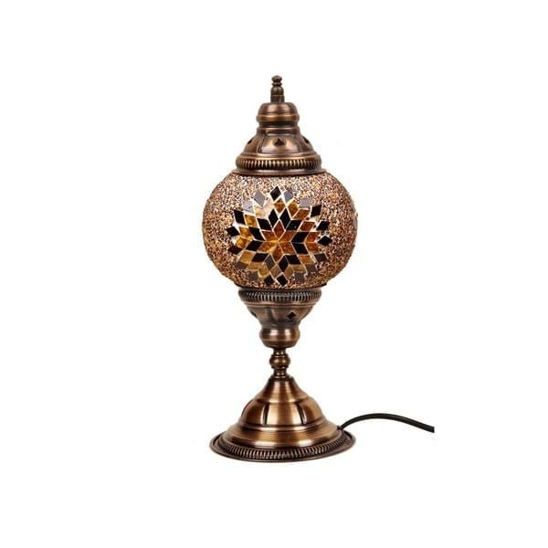 Szklana lampa stołowa Homemania Mosaic , ⌀ 15 cm