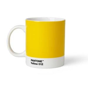 Żółty kubek Pantone 012, 375 ml