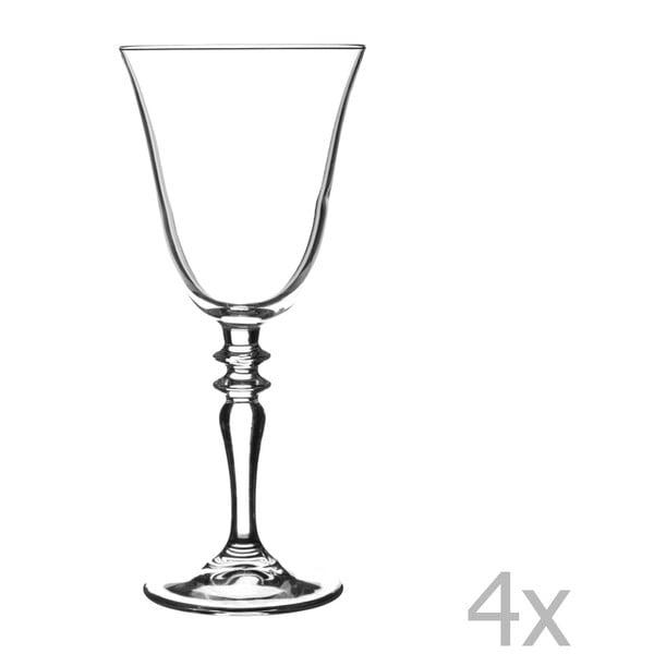 Zestaw 4 lampek na czerwone wino Avalon, 270 ml