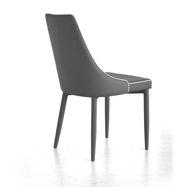 Krzesło Plana, szare