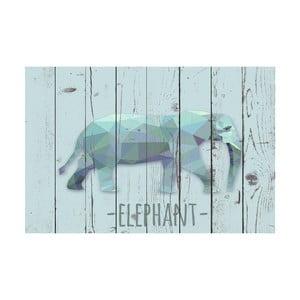 Dywan winylowy Elephant, 100x150 cm