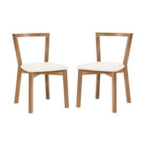 Zestaw 2 krzeseł Woodman Cee