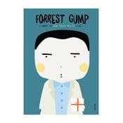 Plakat I want to run 10000 miles like Forrest Gump