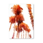 Plakat Trees Orange