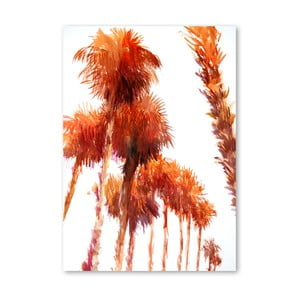 Plakat Trees Orange