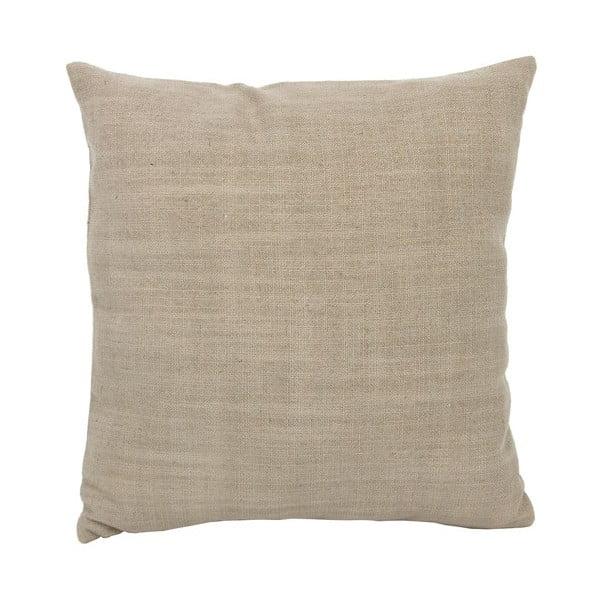 Beżowa poduszka, 40x40 cm