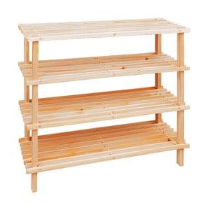 Drewniany stojak na buty Premier Housewares, 4 półki