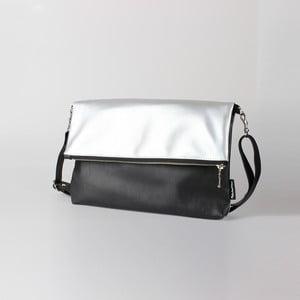 Torebka Mum-ray Fold Silver Black