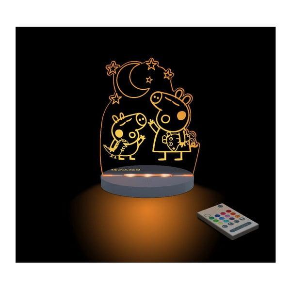 Dziecięca lampka nocna LED Aloka Peppa Pig George