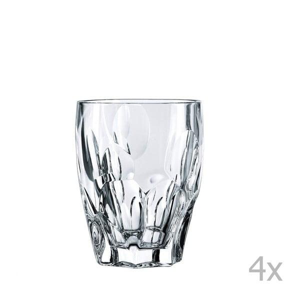Komplet 4 szklanek do whisky ze szkła kryształowego Nachtmann Sphere, 300 ml