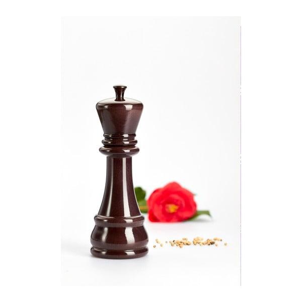 Młynek do przypraw z drewna bukowego Bisetti King, 23 cm