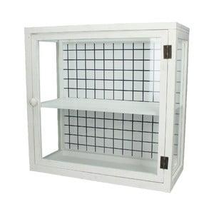 Przeszklona szafka Cabinet, 45x20x44,5 cm