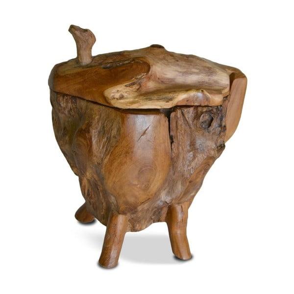 Drewniana szkatułka Vertical