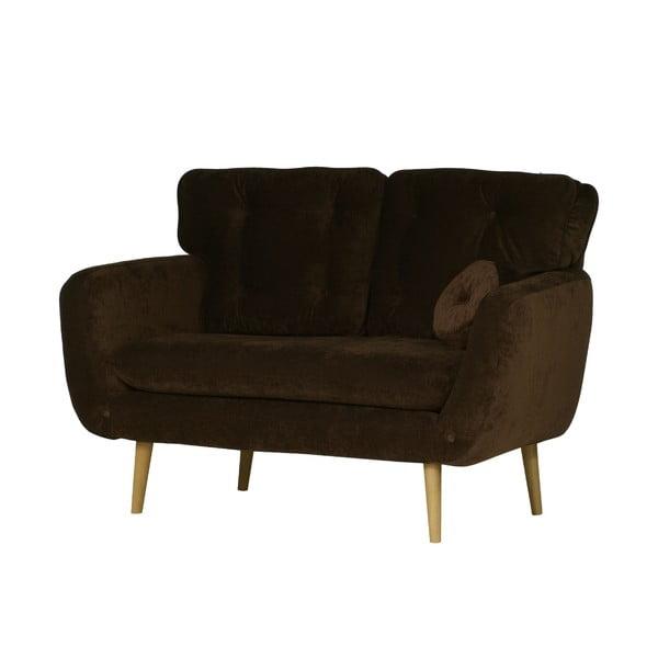 Jasnobrązowa   sofa dwuosobowa Wintech Alva Ibiza