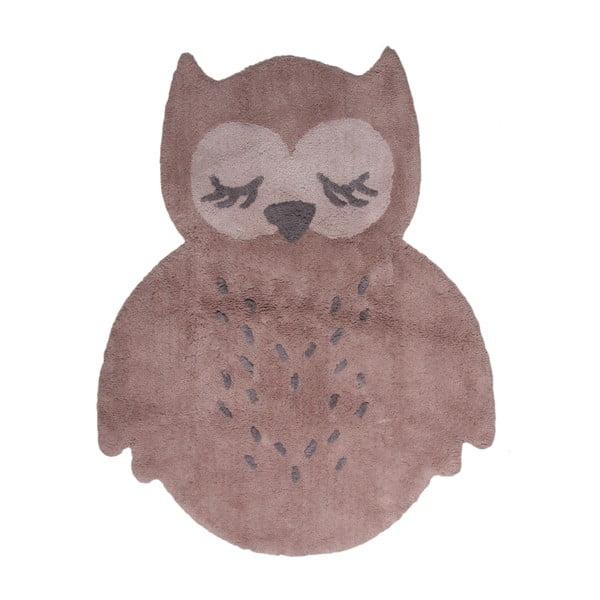 Brązowy dywan dziecięcy Nattiot Sweet Pepa, 95x120 cm