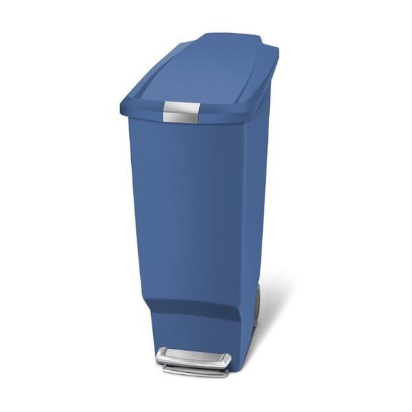 Kosz na śmieci z pedałem Sisi 40 l, niebieski