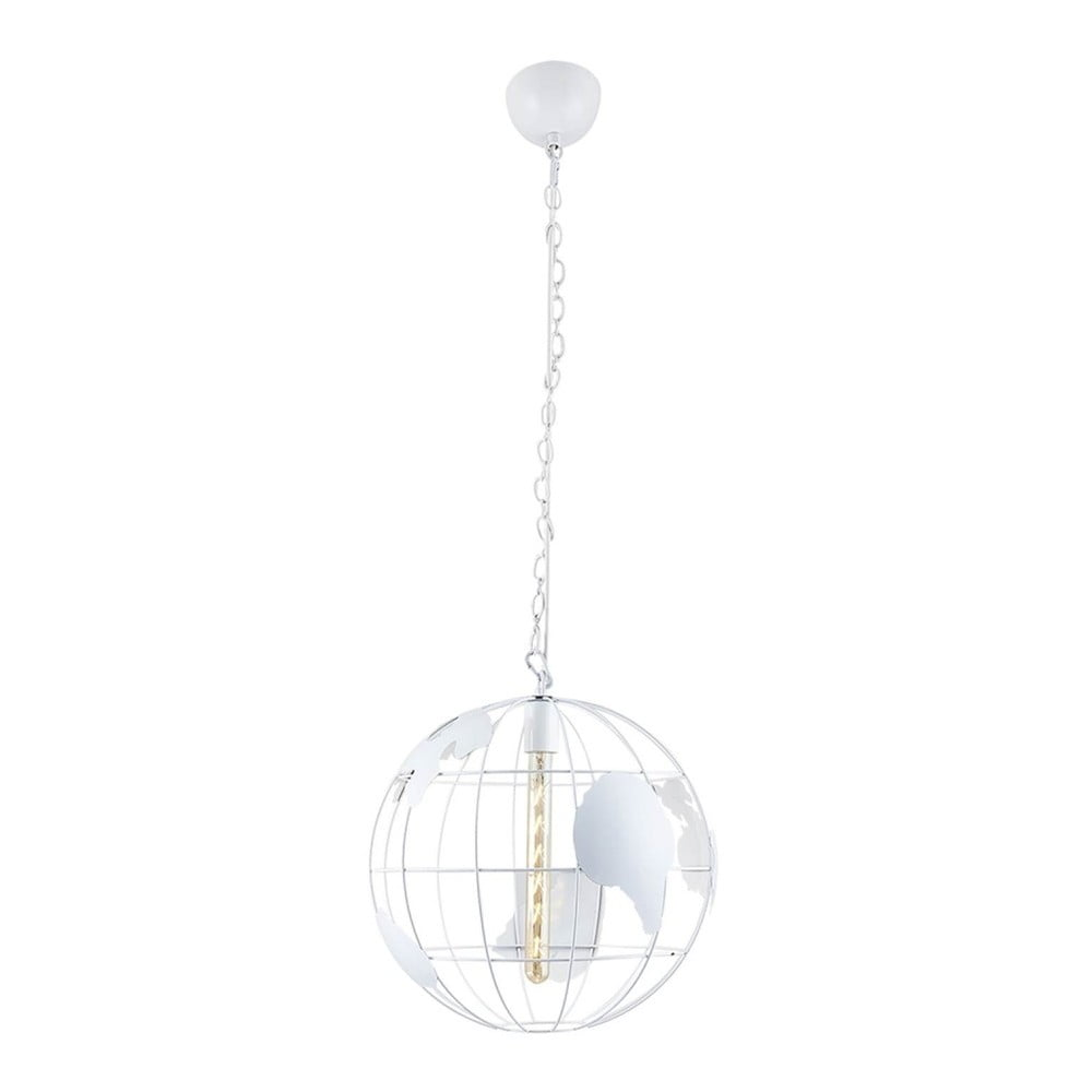 Biała lampa wisząca Homemania Dunya