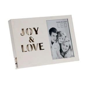 Ramka na zdjęcia świecąca Joy White