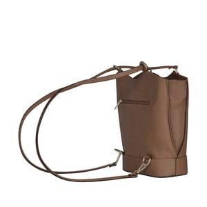 Skórzana torebka/batoh Jamie, beżowa