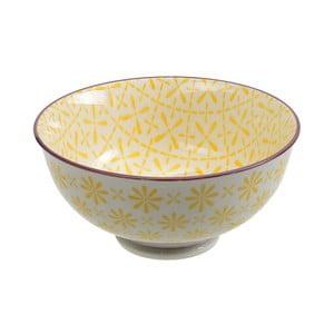 Porcelanowa miska Rice Yellow, 12x5,6 cm