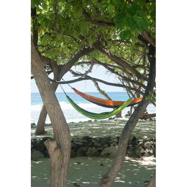 Podróżny hamak jednoosobowy Colibri, zielony