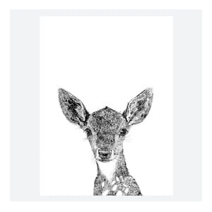 Plakat Darcy The Deer, 30x40 cm