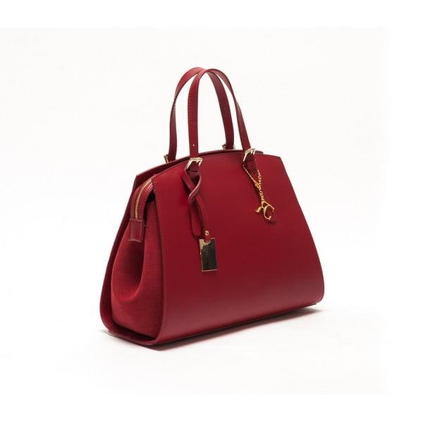 Skórzana torebka Renata Corsi 3003 Rosso