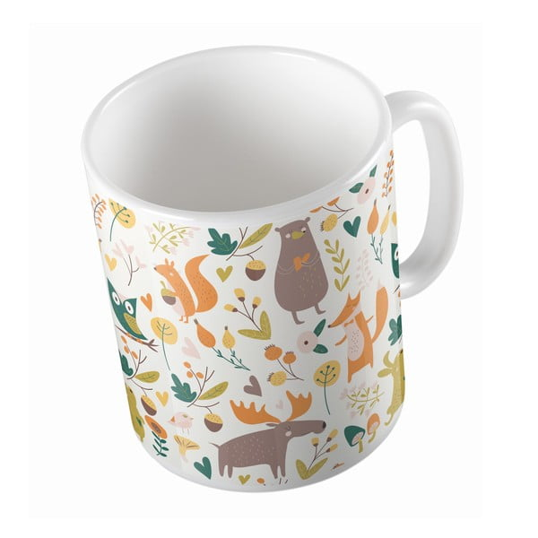 Kubek ceramiczny Fun in Forest, 330 ml