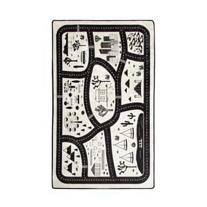Dywan dla dzieci Black City, 100x160 cm