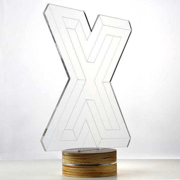 Lampa 3D stołowa Big X