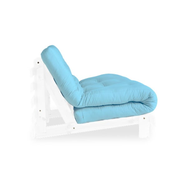 Sofa wielofunkcyjna Karup Design Roots White/Light Blue