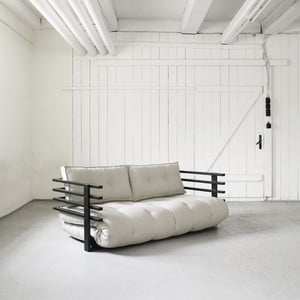 Sofa rozkładana Karup Funk Black/Natural