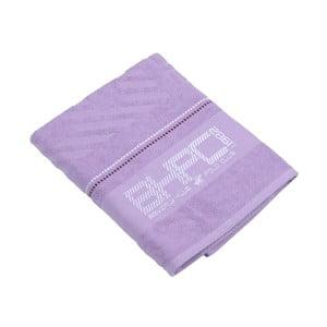 Ręcznik bawełniany BHPC 80x150 cm, pastelowy fioletowy