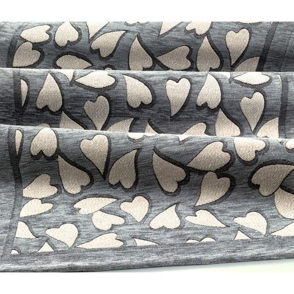 Wytrzymały dywan kuchenny Webtapetti Corazon Grey, 55x240 cm