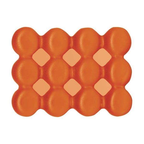 Antypoślizgowa mydelniczka Lebolle, pomarańczowa