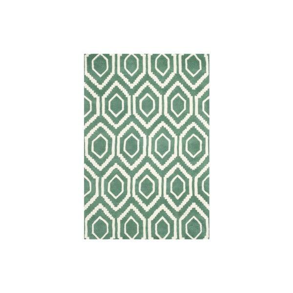 Wełniany dywan Essex 121x182 cm, zielony