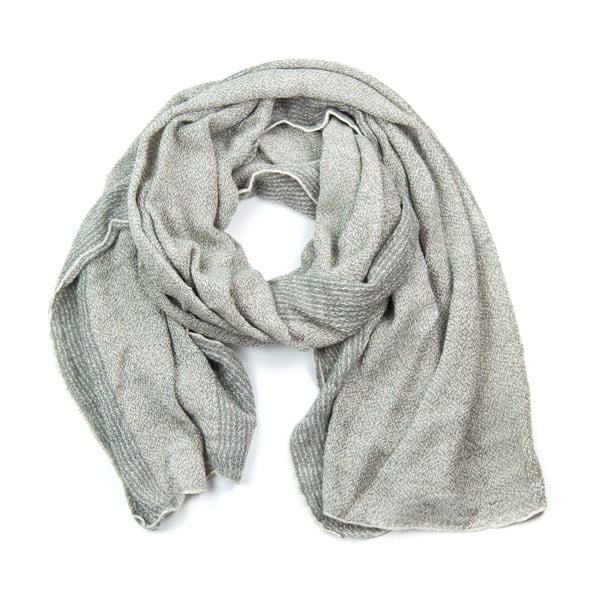 Szalik Elle Light Grey
