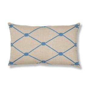 Poduszka La Forma Melrose, 30x50 cm, niebieska