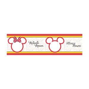 Bordiura samoprzylepna AG Design Mickey & Minnie, długość 5m