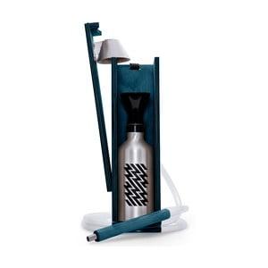 Designerska fajka wodna Hekkpipe Active, niebieska