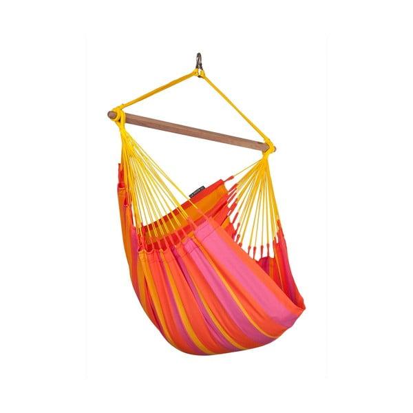Krzesło-Hamak  Sonrise, czerwone