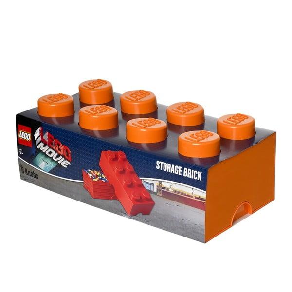Pudełko, pomarańczowe
