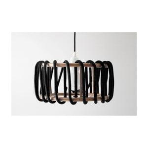 Czarna lampa wisząca EMKO Macaron, 45 cm